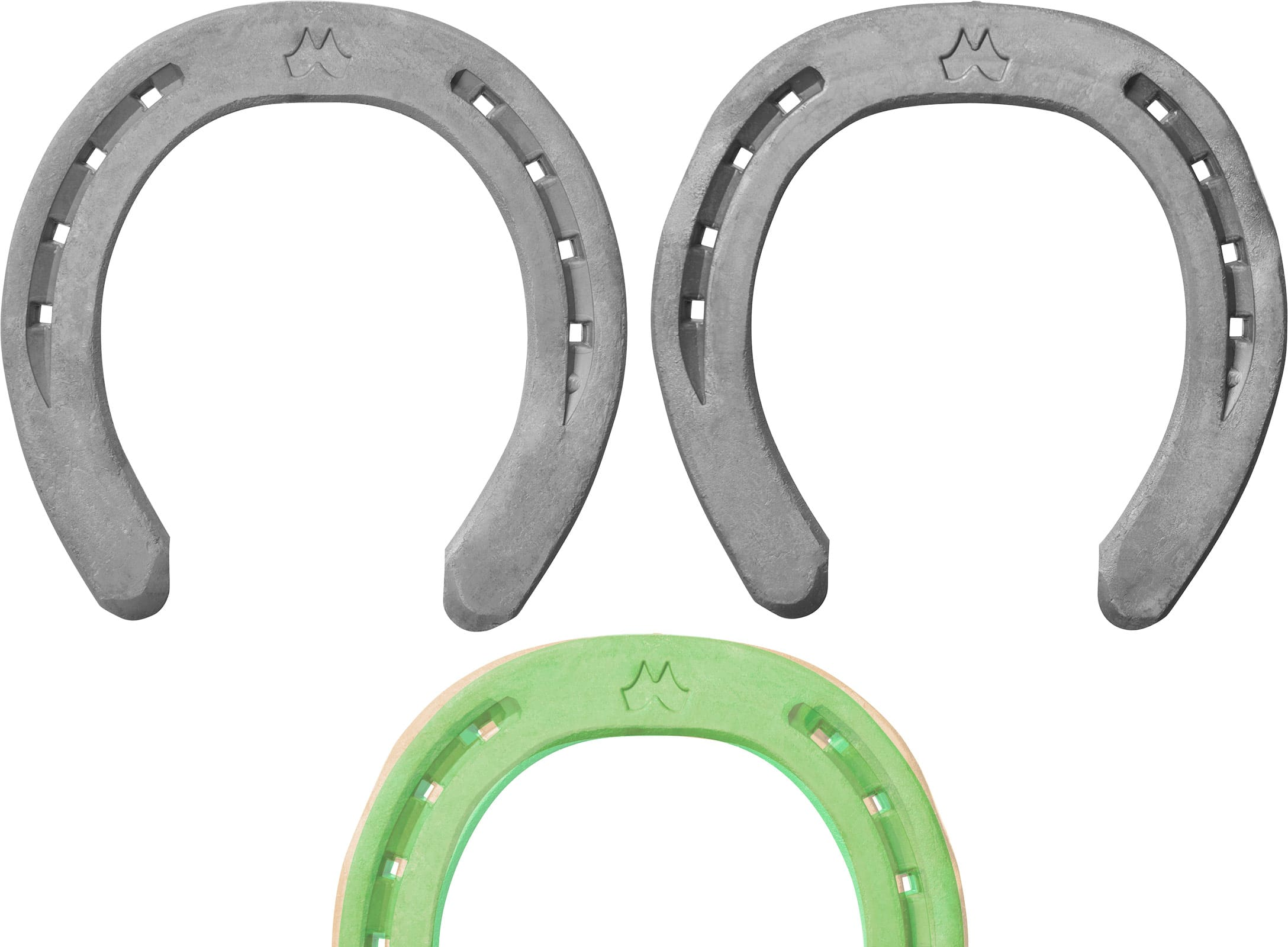 Mustad LiBero horseshoes, difference in front shapes