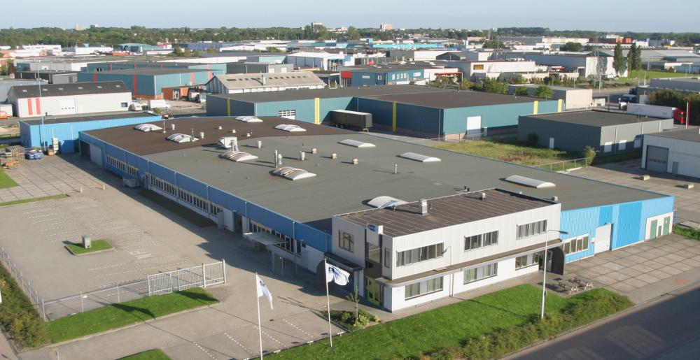 The Mustad Friesland horseshoe factory in Drachten