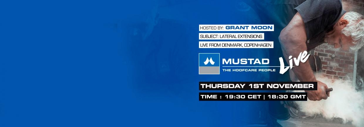 Mustad Live clinic announcement